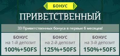 Приветственный бонус в казино NetGame